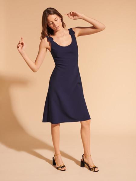 Tara Jarmon国际品牌性感修身吊带裙