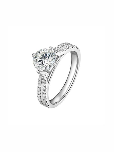 ALLOVE国际品牌复古简约求婚戒指