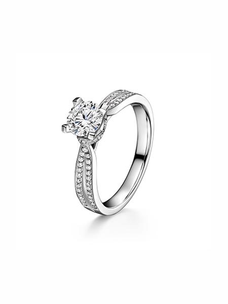 ALLOVE国际品牌简约设计感求婚订婚戒