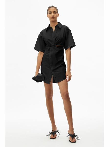 T by Alexander Wang国际品牌①品牌复古衬衫款连衣裙