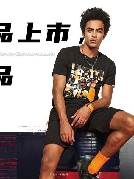 乐菲图Lafetto男装品牌2020春夏黑色T恤