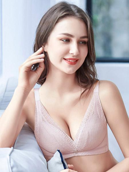 英姿丽人内衣品牌2020春夏粉色文胸套装
