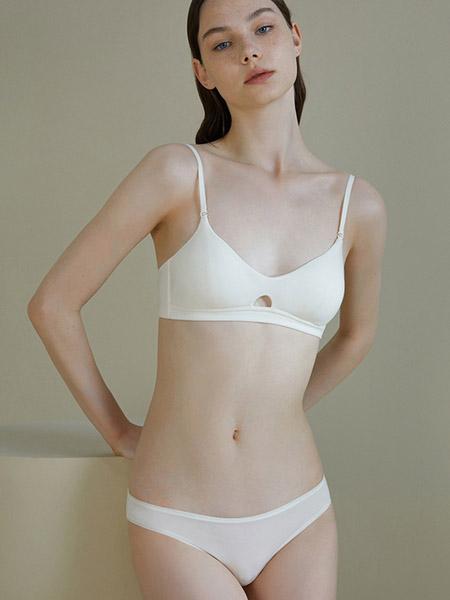 NEIWAI内外内衣品牌2020春夏白色文胸套装