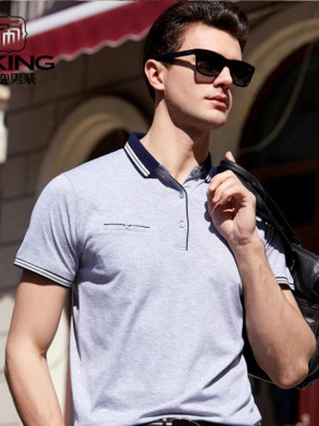 帝牌男装品牌2020春夏T恤男士翻领plol衫时尚商务休闲半袖衫