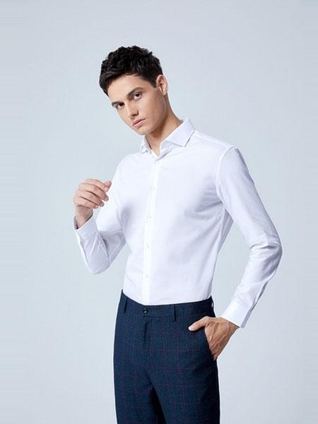 G2000男装品牌2020春夏新款修身衬衣衬衫男长袖