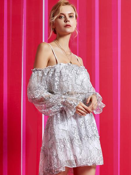 MYBODY内衣品牌2020春夏泳衣女雪纺碎花蕾丝显瘦遮肚ins性感连体仙女温
