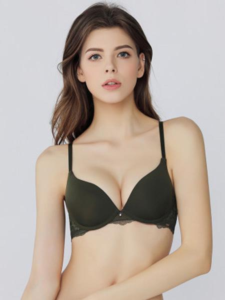 MYBODY内衣品牌2020春夏光面冰丝无痕U型美背舒适性感软钢圈聚拢文胸
