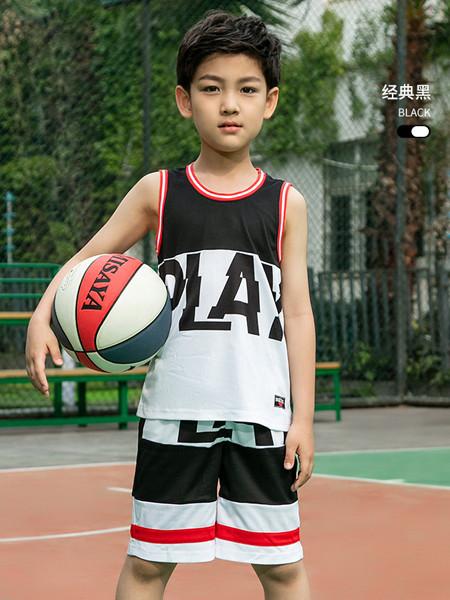 361童裝童裝品牌2020春夏新款無袖T恤男童籃球套裝吸濕速干兩件套