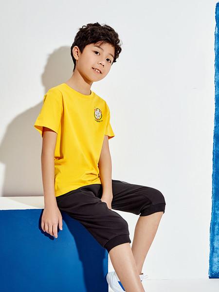 361童裝童裝品牌2020春夏新款中大童透氣兒童帥氣針織上衣