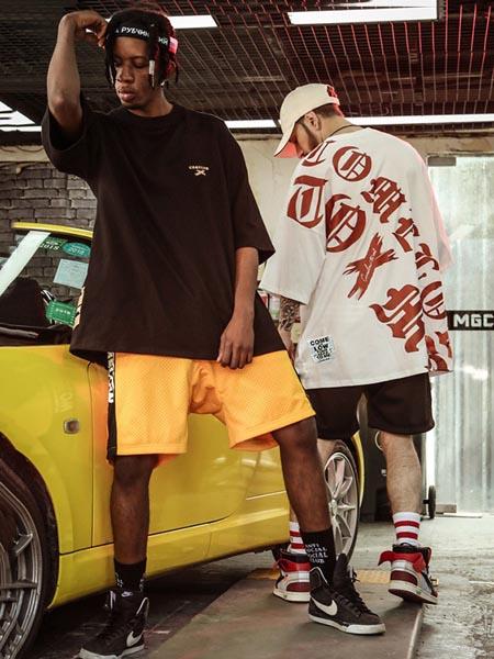 NUTHINK男装品牌2020春夏宽松潮流嘻哈T恤