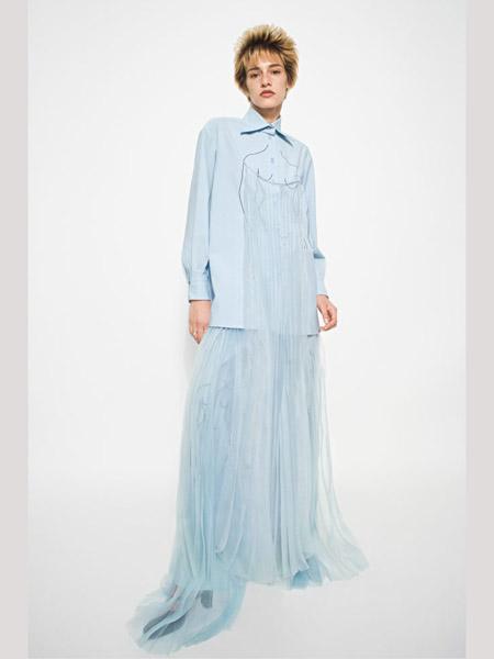 Seen Users国际品牌2020春夏浅蓝色衬衫