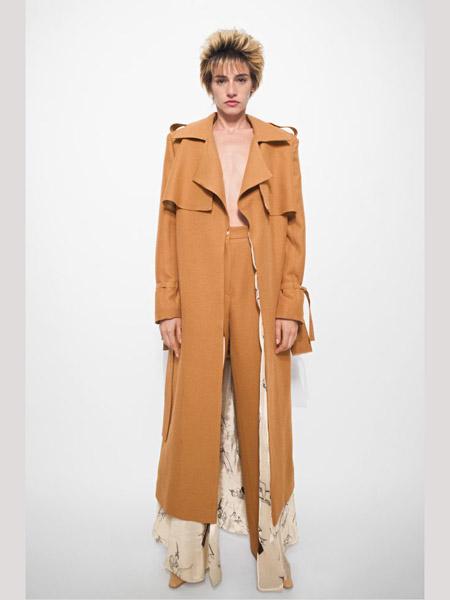 Seen Users国际品牌2020春夏棕色外套长裤西装