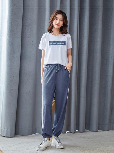Thegardenparty花园派对女装品牌2020春夏时尚印花圆领短袖
