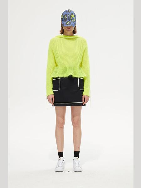 PortsPURE国际品牌2020春夏圆领黄色上衣