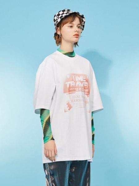I LOVE CHOC 我爱巧克力女装品牌2020春夏简约宽松短袖小个子设计感T恤女