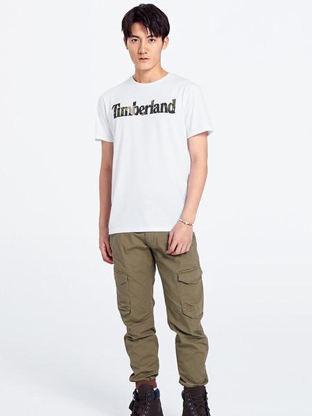 Timberland男装品牌2020春夏新款圆领印花短袖T恤