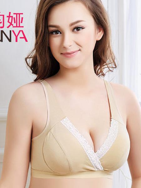 韵娅内衣品牌孕妇内衣胸罩无钢圈哺乳文胸聚拢防下垂背心式睡觉可穿怀孕期喂奶
