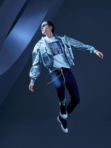 空间男装品牌2020春牛仔外套