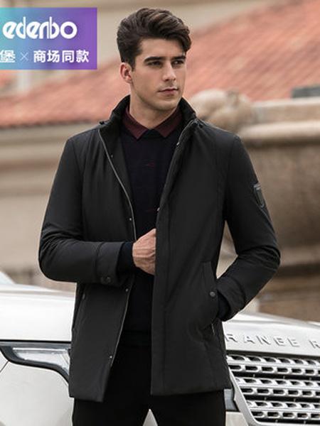 爱登堡・英伦新贵时尚系列男装品牌冬季新款棉衣男青年时尚立领短款加厚保暖棉袄棉服男潮
