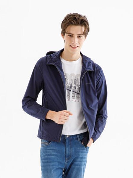 雅戈尔男装品牌2020春夏户外轻薄透气男士外套