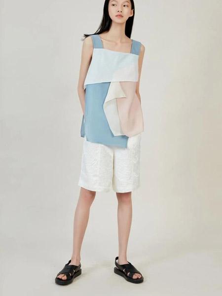 Blancore国际品牌2020春夏拼接款吊带衫