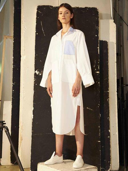 Soocha国际品牌知性纯棉长款衬衫