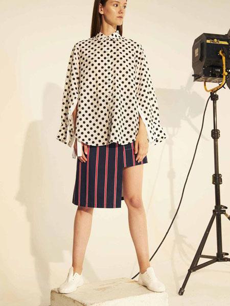Soocha国际品牌时尚波点衬衣