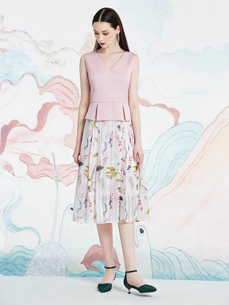 伯妮斯茵ERNIEELEN女装品牌2020春夏连衣裙--秣驷芝田--《洛神赋》