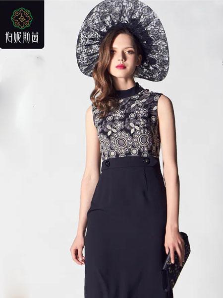 伯妮斯茵ERNIEELEN女装品牌2020春夏连衣裙--玫瑰王宫《智慧之光--波 斯艺术》