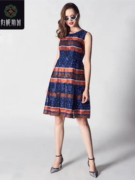 伯妮斯茵ERNIEELEN女装品牌2020春夏连衣裙--音乐的花谱《智慧之光--波 斯艺术》