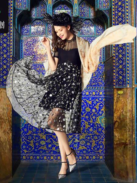 伯妮斯茵ERNIEELEN女装品牌2020春夏连衣裙--国王的虔诚《智慧之光--波 斯艺术》