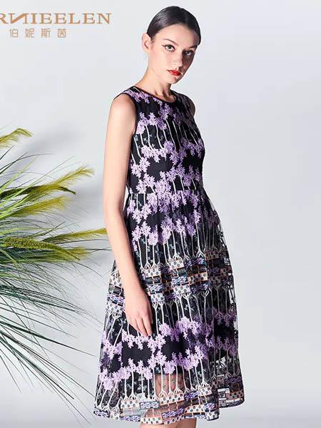 伯妮斯茵ERNIEELEN女装品牌2020春夏连衣裙--撒马尔罕之心《智慧之光--波 斯艺术》