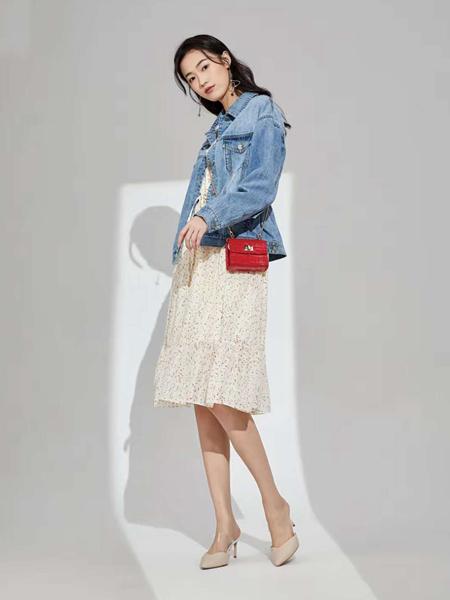 凡恩女装品牌2020春牛仔外套