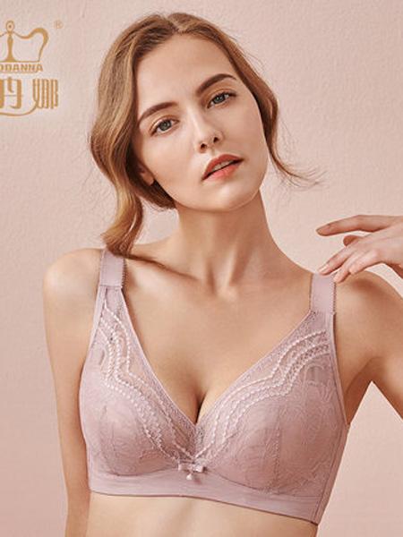 俏丹娜内衣品牌2020春夏俏丹娜2020新款软钢圈大码文胸大胸聚拢调整型副乳性感内衣