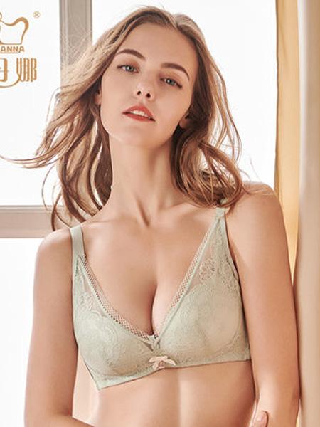 俏丹娜内衣品牌2020春夏俏丹娜2020新款女士内衣无钢圈小胸收副乳聚拢调整型胸罩