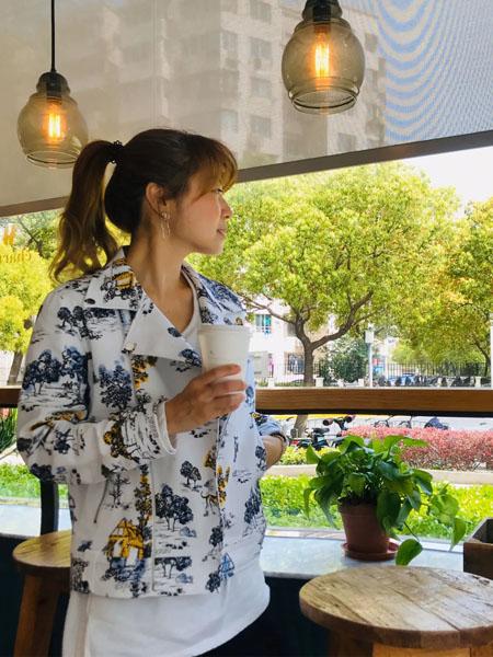 贝尔尼尼女装品牌2020春夏翻领时尚印花衬衫
