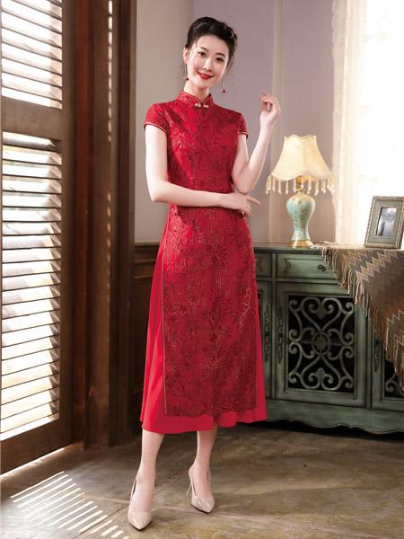国潮风范唐雅阁 赋予你元旦假期红红火火、复古的美