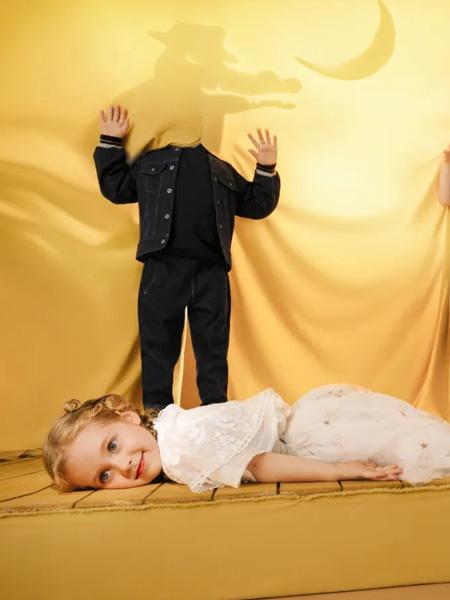 小食梦兽 - miidiitapir童装品牌2020秋季黑色牛仔外套