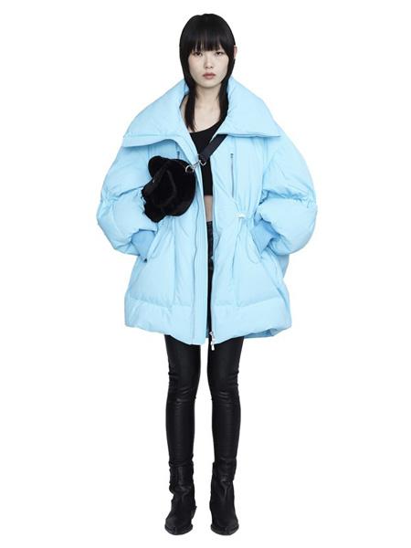 CHENPENG休闲品牌2020秋冬蓝色保暖外套
