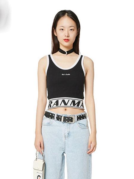 N-ONE女装品牌2020春夏新品印花圆领短袖T恤女上衣