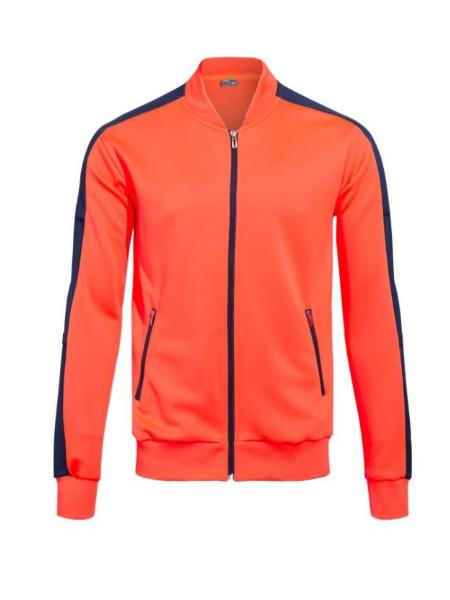 拉链V领运动服 男士秋冬款休闲跑步套装篮球足球训练服