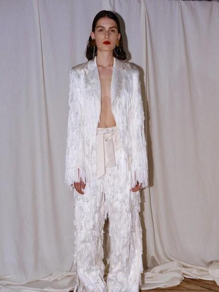 XUZHI女装品牌2020春夏复古职场西装套装