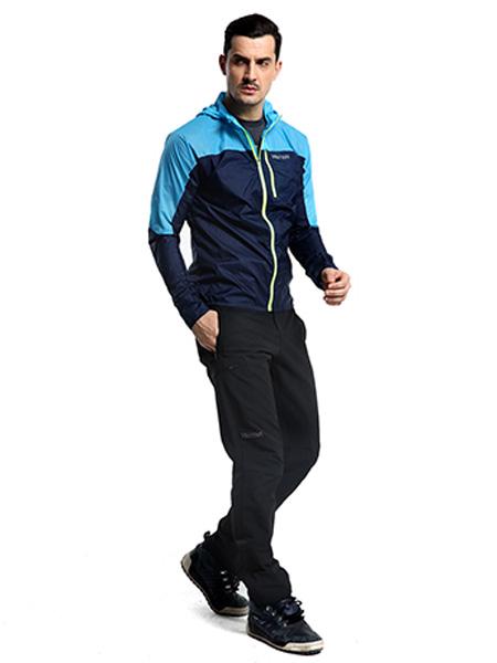 土撥鼠戶外品牌運動外套藍色
