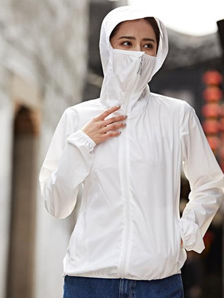 阿仕顿artsdon男装品牌2020春夏阿仕顿夏季新款防晒衣男防紫外线连帽外套超薄透气纯色防晒服女潮