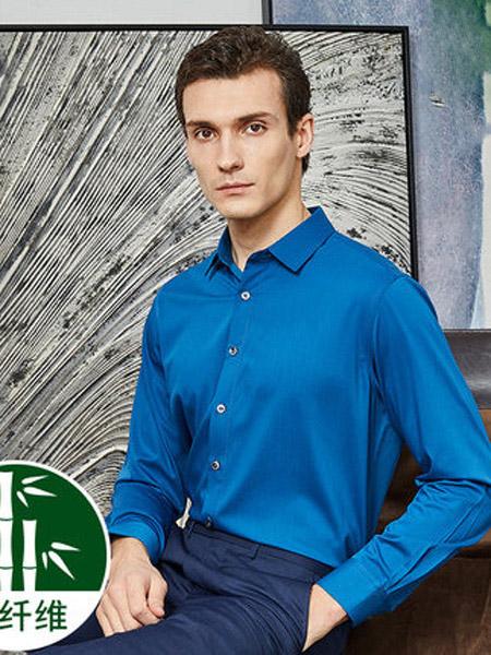 2020春夏阿仕顿男士衬衫短袖休闲韩版修身竹纤维商务正装职业免烫白色衬衣