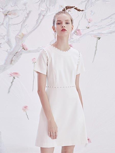 BlingBlingQuinn女装品牌2020春夏小众时尚连衣裙