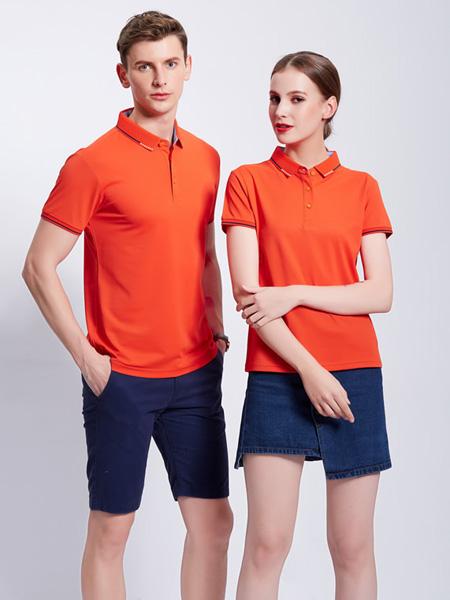 伽汝布斯休闲品牌2020春夏纯色polo衫工装