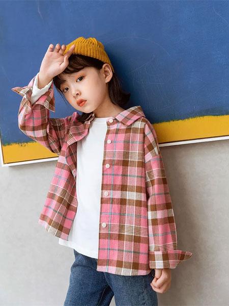 小鬼当家/米其仔童装品牌2020秋冬休闲格子衬衫