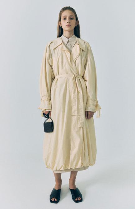 LOW CLASSIC女装品牌2020秋冬原宿慵懒风长款外套