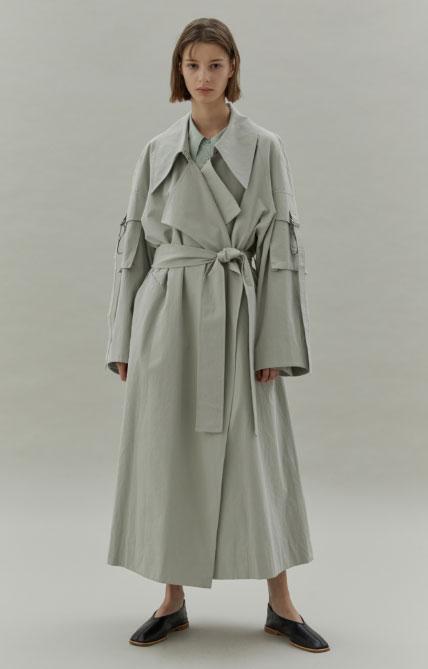 LOW CLASSIC女装品牌2020秋冬原宿街头范长款外套